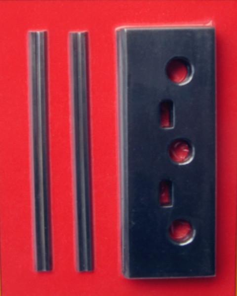 Umrüstsatz inkl. 2 Halter + 2 Messer - 78mm für Virutex - k.A.