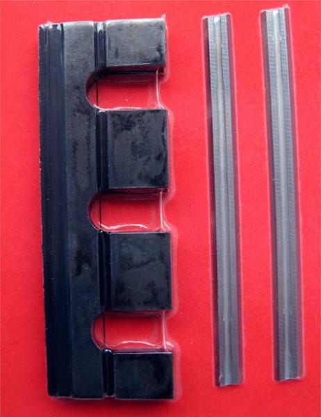 Umrüstsatz inkl. 2 Halter + 2 Messer - 81mm für Elu - k.A.